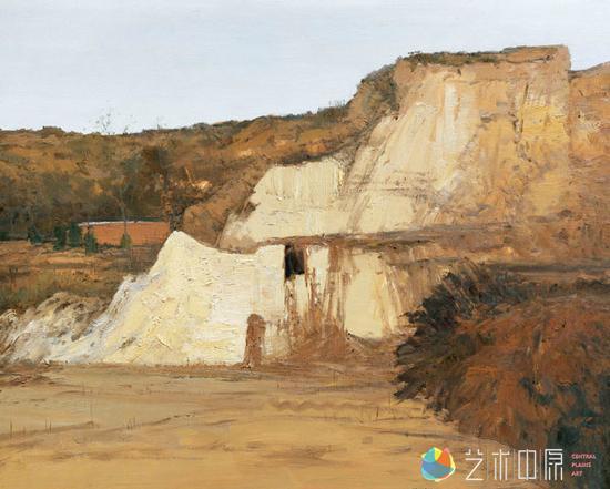 刘杰 中国美术家协会理事、河南省美术家协会主席<br /> 《家园》油画130x160cm