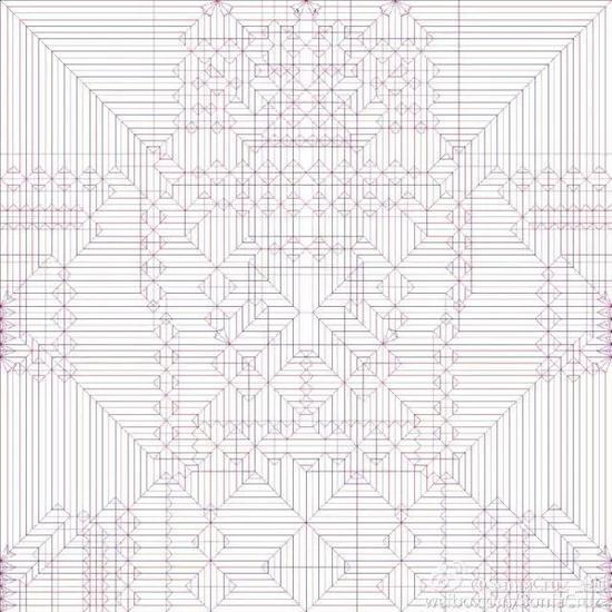 秦坤在微博上晒出的设计图