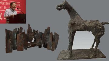 杨振宁夫妇捐家藏雕塑 中国美术馆获国宝