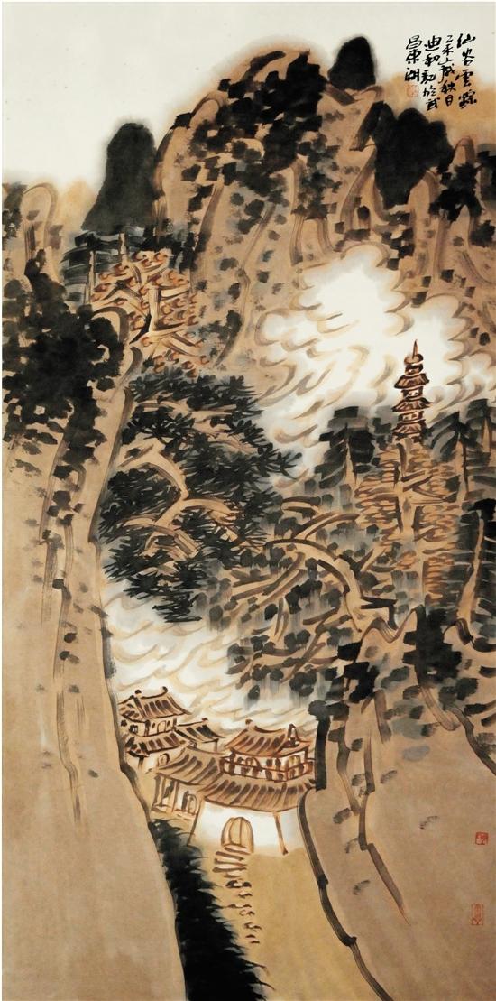 陈迪和(湖北省国画院院长)   这些年来,把中国画称为水墨画似乎越来越普遍越来越时髦了,不知道这是出于一种学术还是出于某种心理或某种目的,反正不把中国画变成水墨画就有一种誓不甘休的意思,想想上个世纪50年代就曾经要把中国画改名为彩墨画,也就只能一声叹息了。有人说在古代中国画就有水墨画之称,这个不假,宋以前中国画按材料和表现方法,就分为水墨画、重彩、浅绛、工笔、写意、白描等。很显然彼水墨画并非此水墨画,古之称水墨画是指中国画中以墨为彩不添其它颜色的画,今之称水墨画不仅泛指整个中国画,而且去除了具有中华文