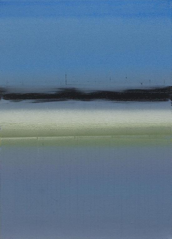 方伟 《光色与虚无》 50cm×70cm    布面油画  2016年