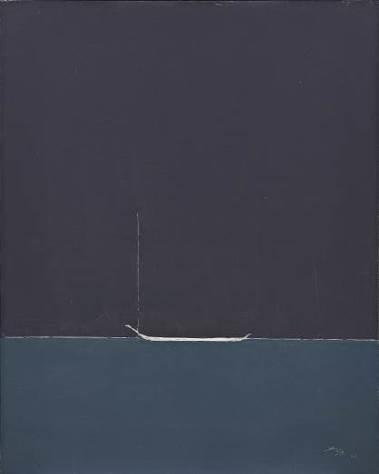 叶世强(1926 – 2012),《威尼斯遊船》    2006 年作,油彩画布, 91 x 72.5 公分