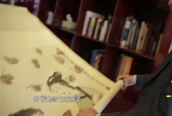 王健林对艺术品的鉴赏非常内行,且怀着敬畏之心