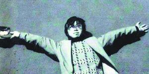 理波拍摄的海子张开双手拥抱远方的摄影,在诗界内外广为流传