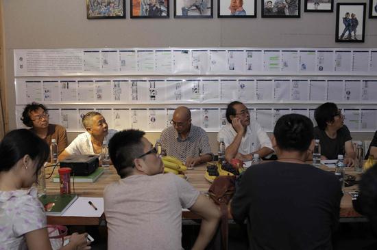 闽东本土艺术家在论坛现场