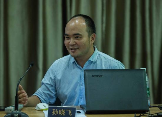 艺术口袋创始人 孙晓飞 中央美术学院美术馆王育琪图