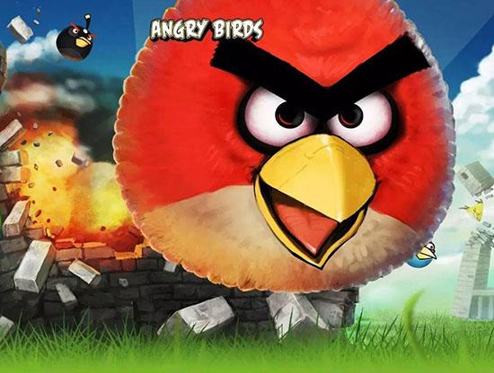 手游《愤怒的小鸟》中暴脾气的胖红