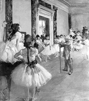 《舞蹈教室》