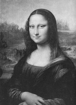 《蒙娜丽莎的微笑》