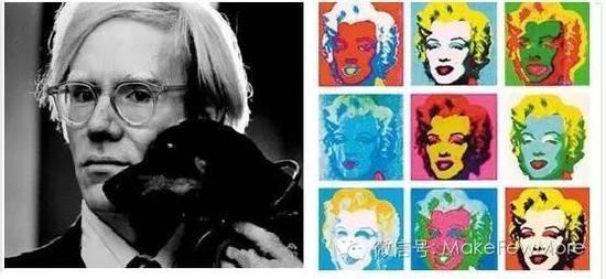 安迪·沃霍尔及其代表作《玛丽莲·梦露》-安迪沃霍尔 让艺术与商业图片