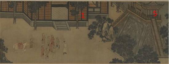 图六:天津博物馆《中兴瑞应图》局部