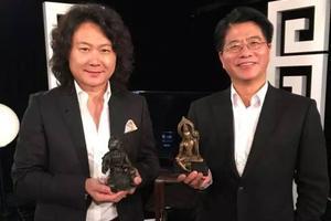 香港翰海拍卖董事长受邀参加戴忠仁主持的国宝档案