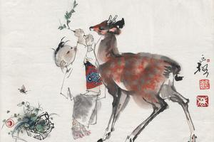 李延声从艺六十年画展亮相 耗时三年百米长卷展出