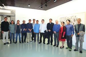 风云意气:冯钟云画展在正观美术馆开幕