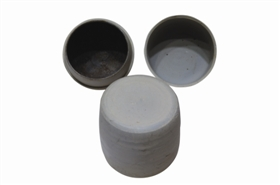图1 宋代建窑 素胎带盖茶叶罐