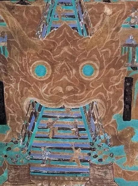 登天梯:莫高窟第454窟