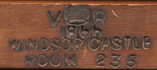 1866年温莎城堡 房间编号235(1866年入库存编号)