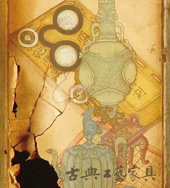 图1-4 带有乾隆年号的画面