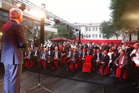 上海合作组织秘书长阿利莫夫发表了开幕式讲话