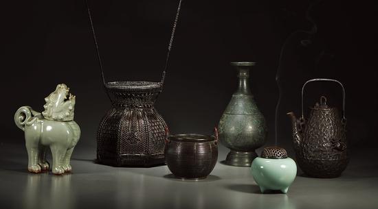 悠然自得•茶器花器香器专场