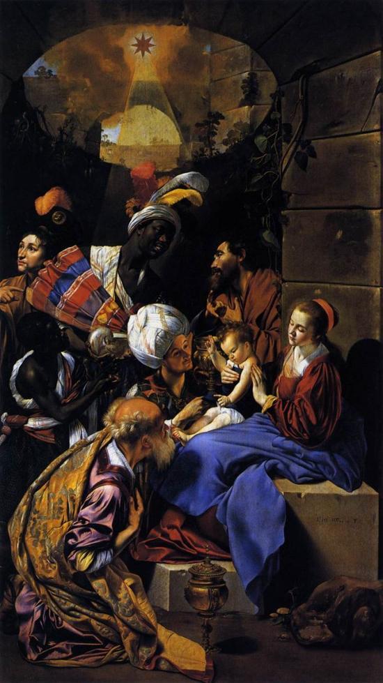 油画人物 黑白 欧洲
