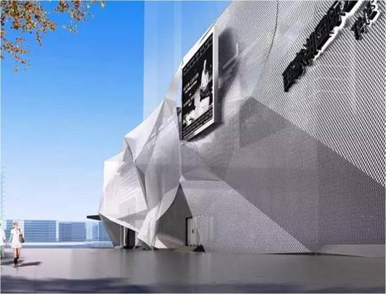 南京百家湖美术馆效果图