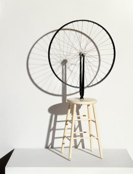《自行车轮》,1913—1964,杜尚,现成艺术