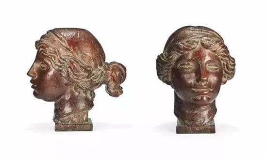 雷诺阿&德吉诺  《胜利者维纳斯头像》  百家湖博物馆馆藏