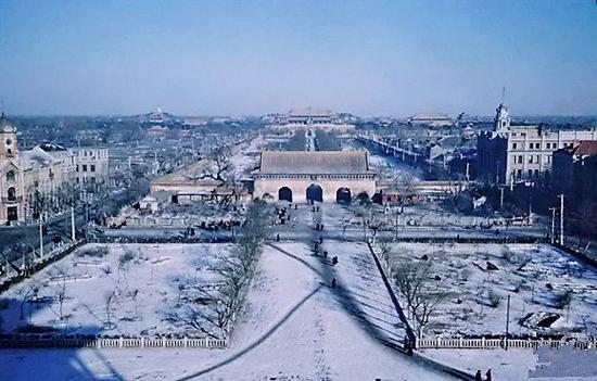 中华门,拆除时间为1958年