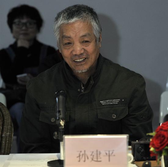 天津美术学院教授、副院长、著名油画家孙建平先生