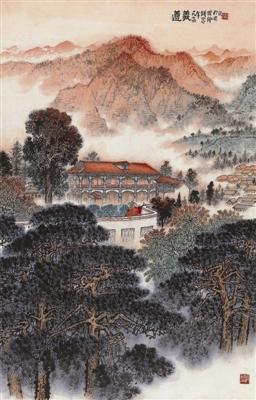 钱松嵒《遵义》,在中国嘉德2012秋拍会上获价862.5万元