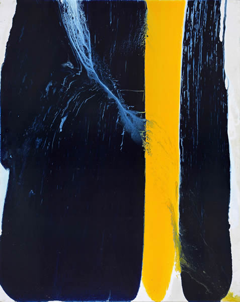 闫泓池《快感 外面刮风 你躲在屋里的快感》 100X80   油画 2016