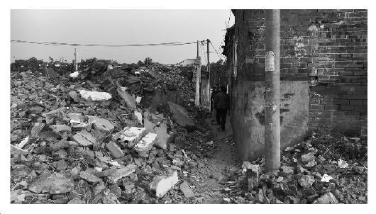 周总理童年居住地古建遭拆毁