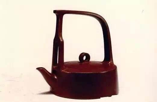1983年 顾景舟 鹧鸪提梁壶