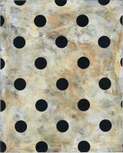 图片注明:金容益(生于 1947 年),《 Untitled》,1993 年,布面混合媒介,100 x 80 厘米,图片由 Kukje Gallery 提供
