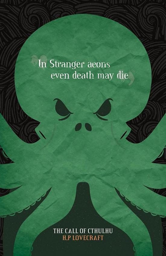 """""""奇妙的永劫亦不以死为终焉。""""——《克苏鲁的呼唤》"""