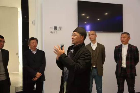 中央美术学院实验艺术学院教授吕胜中开幕式致辞