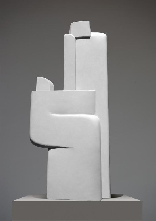 郭继锋《对影》 60×50×30cm 树脂 2016年