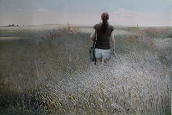 《记忆1》 板上油画 70cm×100cm
