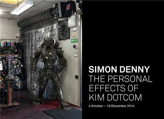 """""""金·达康的个人效应""""展览,图片来源:惠灵顿亚当画廊"""