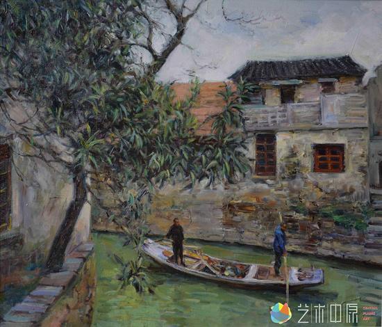 刘建中江南写意油画展