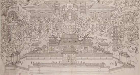 复原双林稿-贺友直-北京画院藏