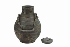 图1、2战国蟠虺纹铜壶