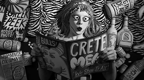 """玛丽·里德·凯利和帕特里克·凯利的作品""""Crete Meat, 2016"""