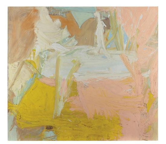 威廉‧德‧库宁 《田园》 油彩 画布 1963 年作