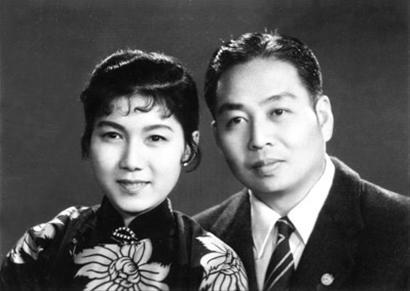 吴祖光和夫人新凤霞