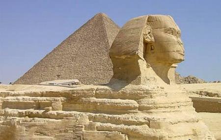 古埃及金字塔雕塑