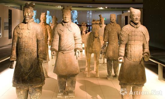 2007年,秦始皇兵马俑在大英博物馆展出