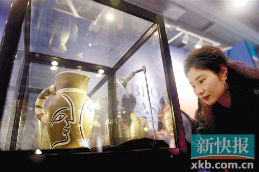 昨日,第21届广州艺博会在琶洲广交会展馆闭幕。新快报记者 夏世焱 摄