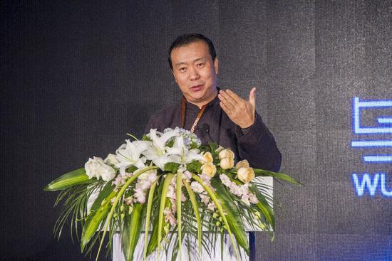 乌镇国际未来视觉艺术计划的发起人,北京电影学院动画学院院长孙立军
